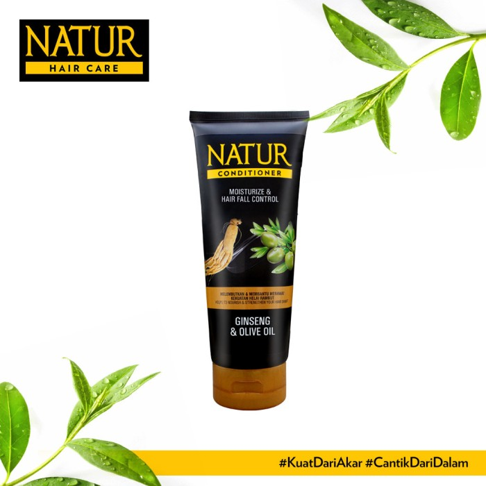 Foto Produk Natur Conditioner Gingseng 165 ML dari Back To Natur