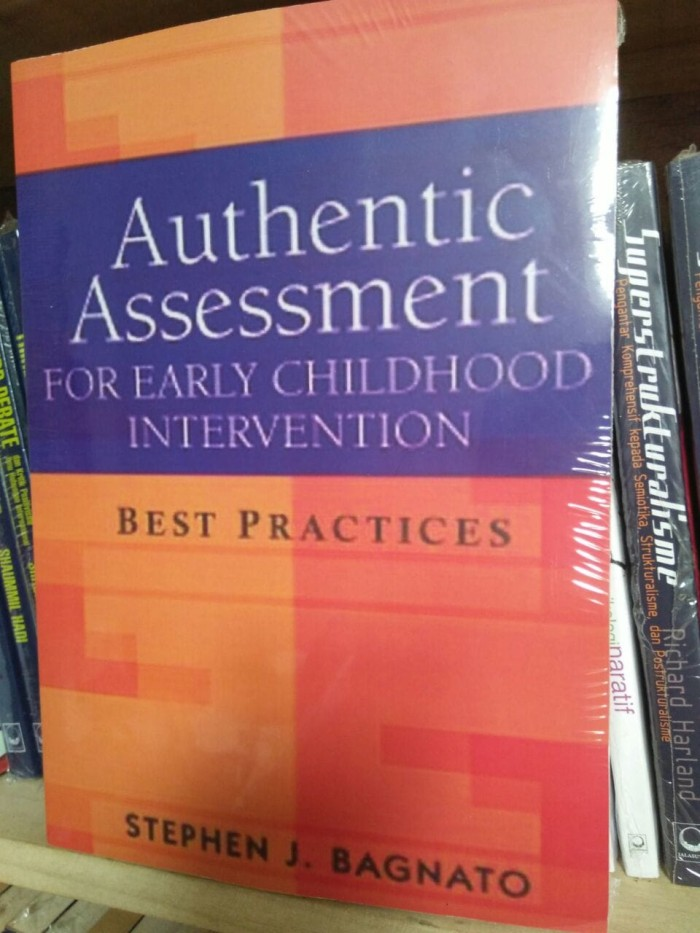 Authentic Assessment For Early Childhood Intervention - Stephen J B