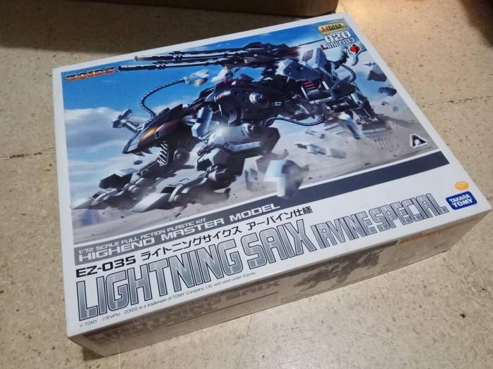 harga Zoids 1/72 highend master model lightning saix irvine special Tokopedia.com