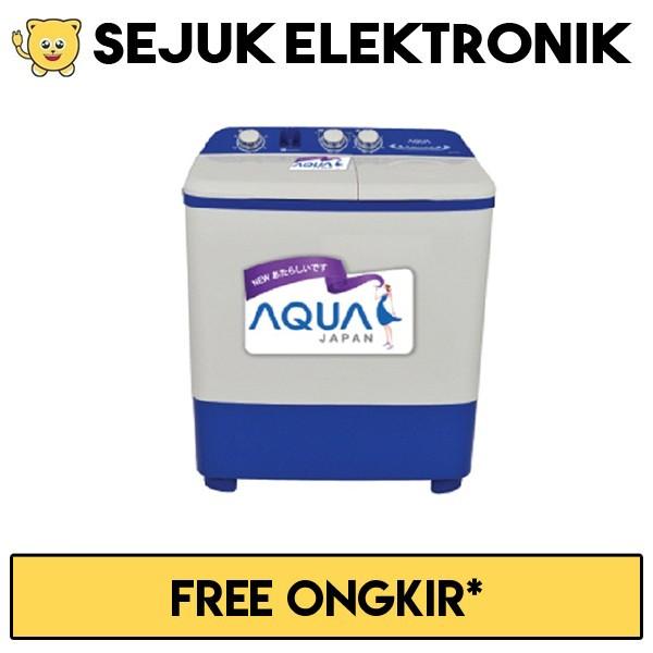 Harga Aqua Qw 771xt Mesin Cuci 2 Tabung 7kg Putih Jabodetabek Tokopedia