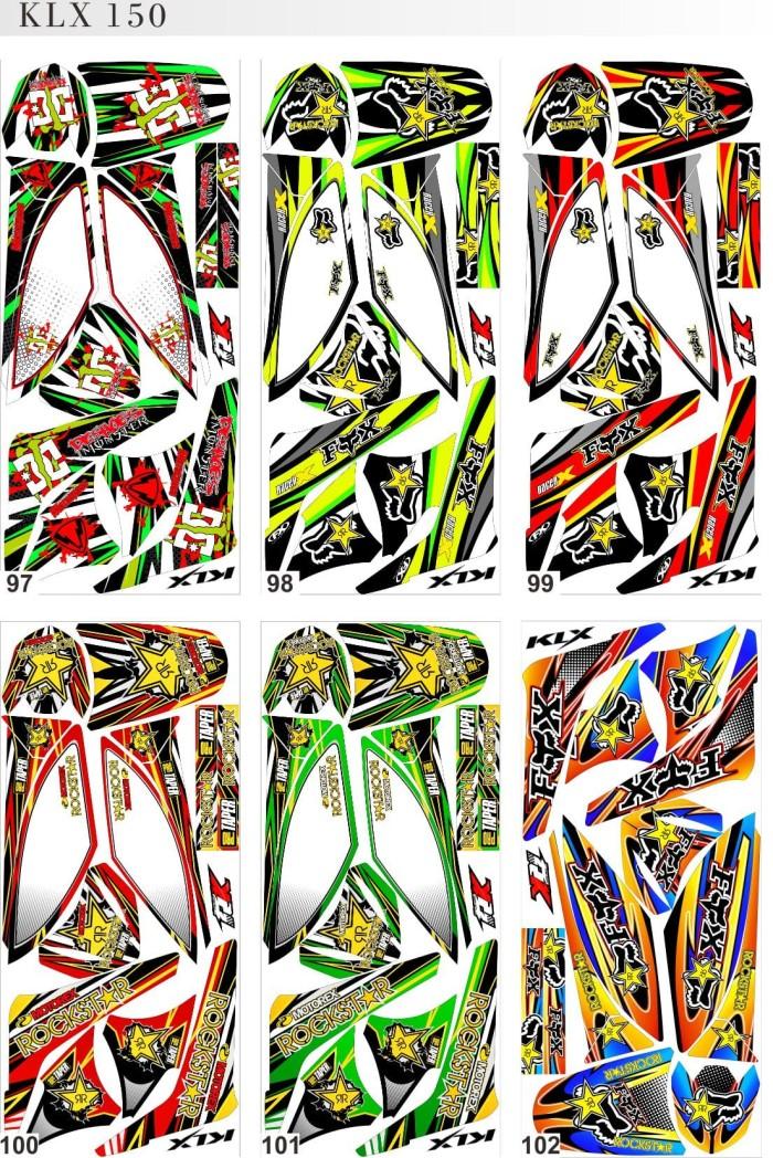 harga Striping*decal*sticker* kawasaki klx 150 Tokopedia.com
