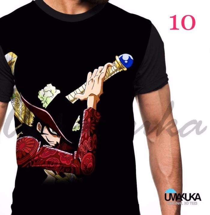 harga Baju / kaos 3d anime one piece / naruto original murah Tokopedia.com