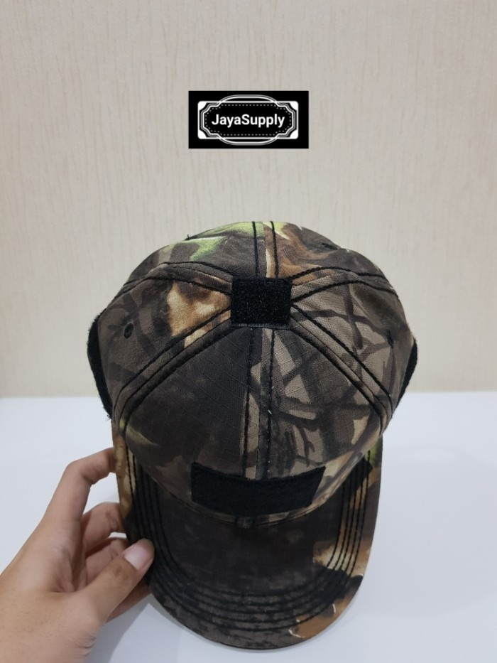 Jual Topi Velcro CAMO Tactical Combat Hat Army Militer Outdoor Rimba ... ab1539afb3