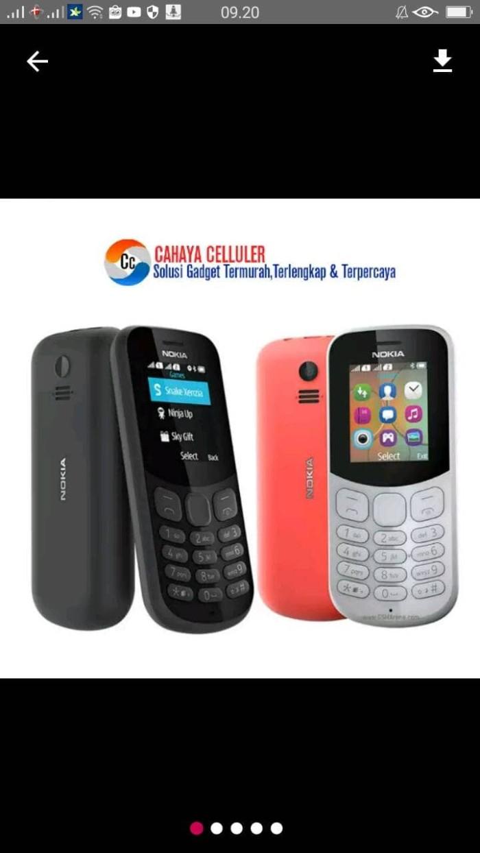 Jual Nokia 130 Dual Sim Cek Harga Di Kamera New 2017 Garansi Resmi