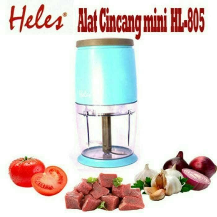 harga Alat penggiling blender daging bumbu mini chopper heles hl-805 Tokopedia.com
