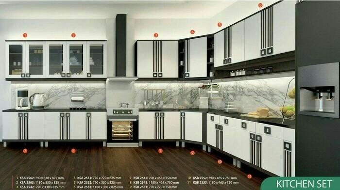 Jual Kitchen Set 2 Pintu Biasa Infinity Series Kota Tangerang Selatan Kaii Olshop Tokopedia