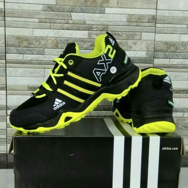 Sepatu Adidas Ax2 Hitam Hijau 7