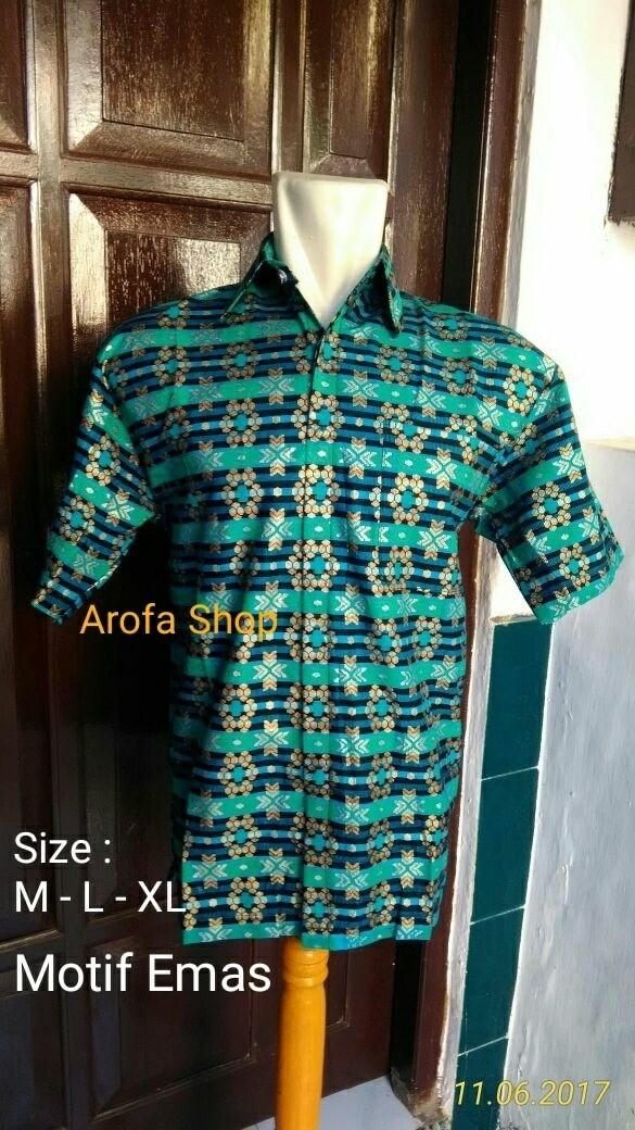 baju batik pria/kemeja batik/batik modern/baju batik pria/hem/