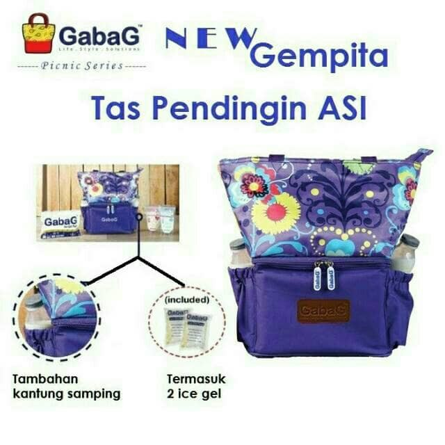 Gabag cooler bag new gempita