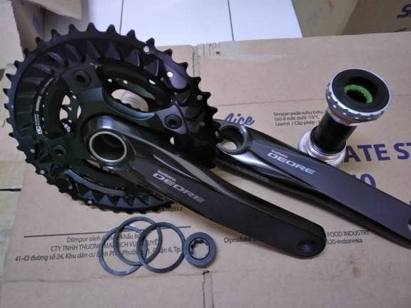 harga Crank deore m6000 new 40 30 22 Tokopedia.com