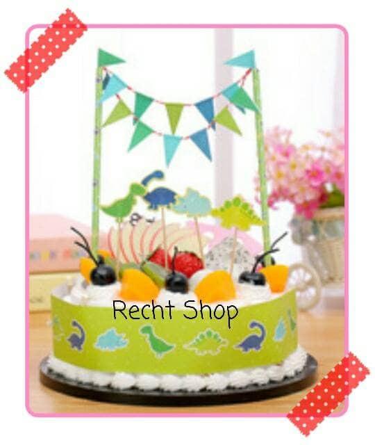 harga Topper cake kue ulang tahun karakter dinosaurus Tokopedia.com