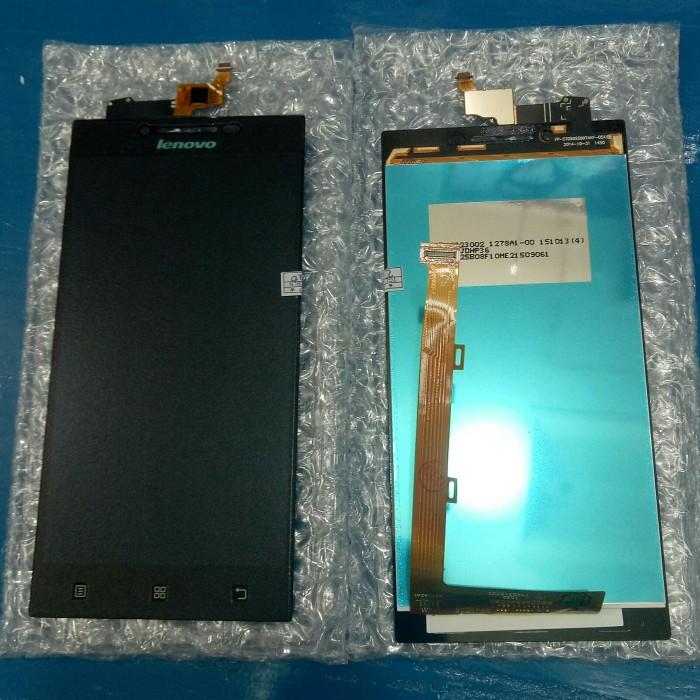Foto Produk lcd touch screen lenovo p70/p70a original - Hitam dari KING sparepart