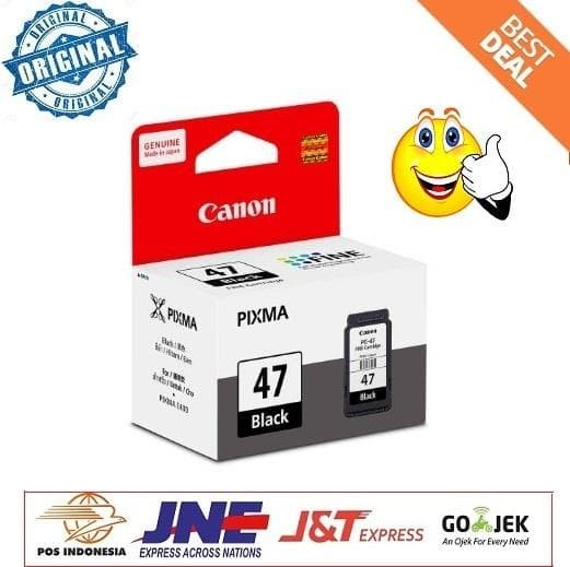 harga Tinta canon pg-47 ink cartridge pixma e400 e460 Tokopedia.com