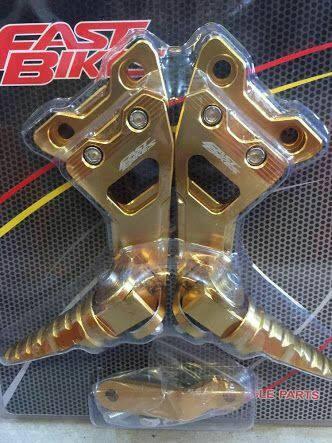 harga Footstep belakang satria 150 satria fu full cnc fast bikes Tokopedia.com