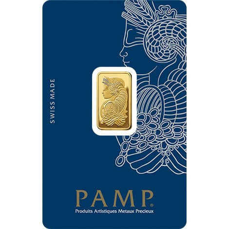 Jual Emas Batangan 5gr Pamp Suisse Fortuna Gold Bar Veriscan Assay