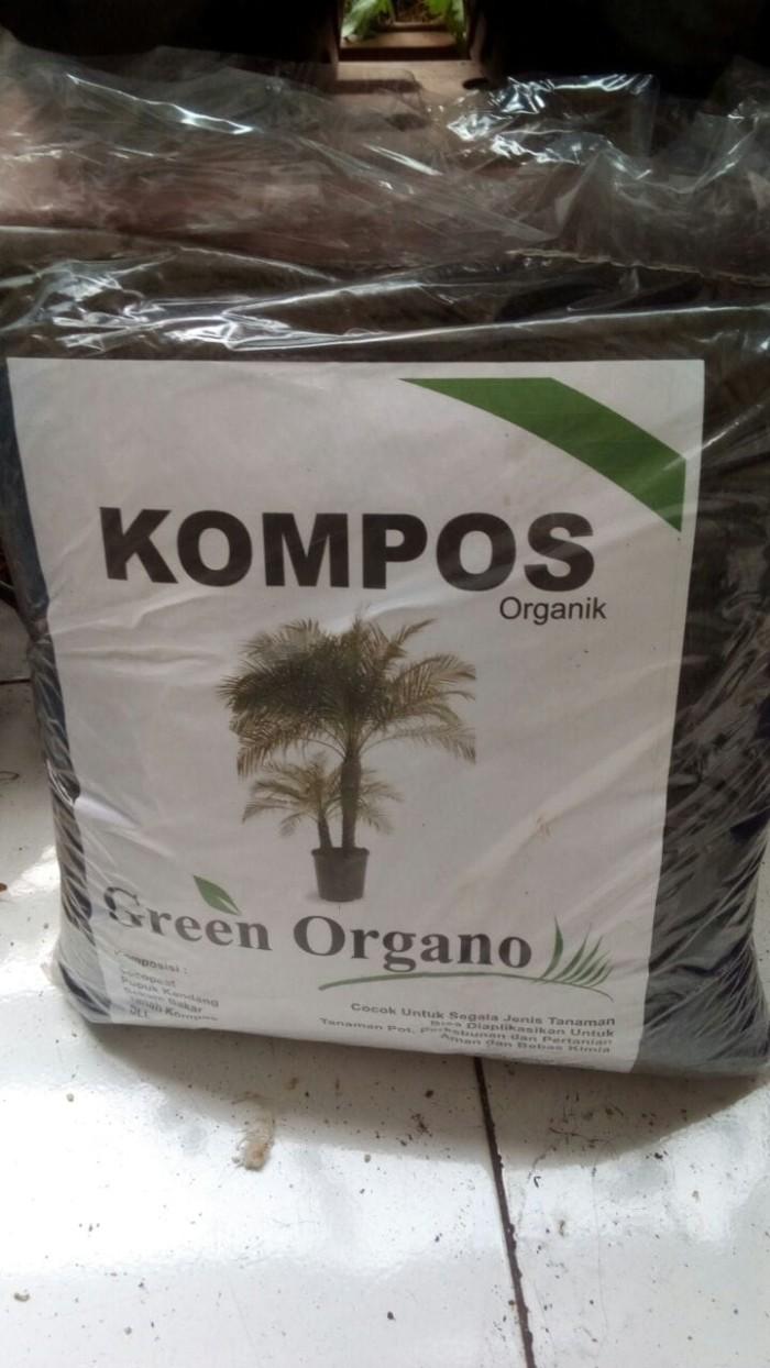 Jual Media Tanam Pupuk Kompos Untuk Semua Jenis Tanaman Green Organo Organik