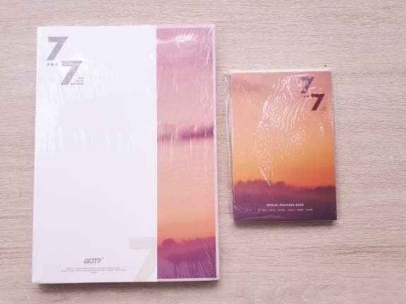 harga Got7 - album [7 for 7] pilih ver. + postcard & poster Tokopedia.com