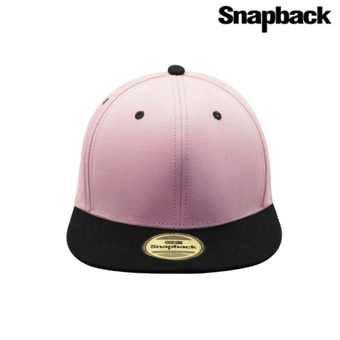 Jual Snapback Topi Hiphop Dewasa Combine ( Pink Black ) Harga Promo Terbaru