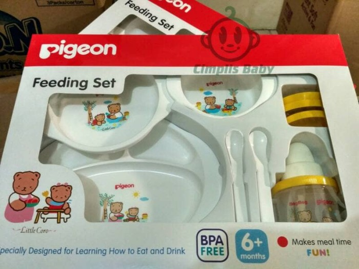 Pigeon Feeding Set With Training Cup