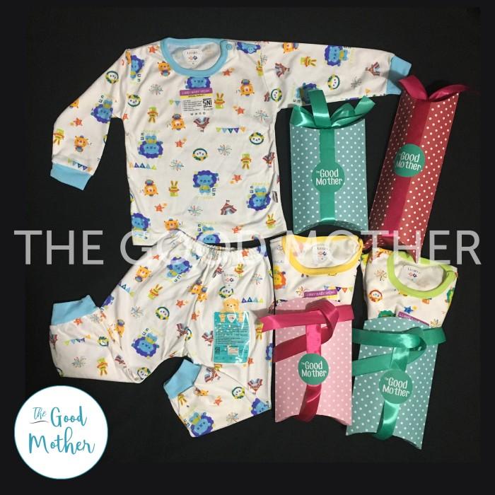 Baju Tidur/Piyama Bayi SML (3-12m) Setelan Panjang Libby