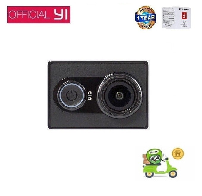 Xiaomi Yi Action Camera - 16 MP - Hitam - International Version