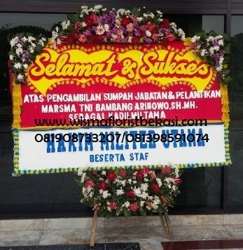 Jual Karangan Bunga Papan Ucapan Selamat Dan Sukses Kota Bekasi Wismafloristbekasi Tokopedia
