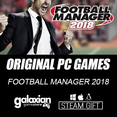 harga Football manager 2018 - steam original pc games Tokopedia.com