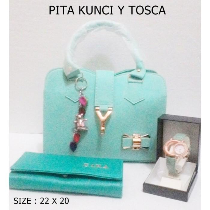 tas selempang wanita PITA KUNCI Y TOSCA / TAS PAKETAN / PAKET / LOKAL