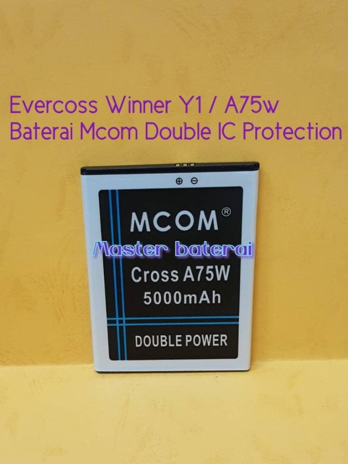 harga Baterai battery evercoss a75w winner y1 double power Tokopedia.com