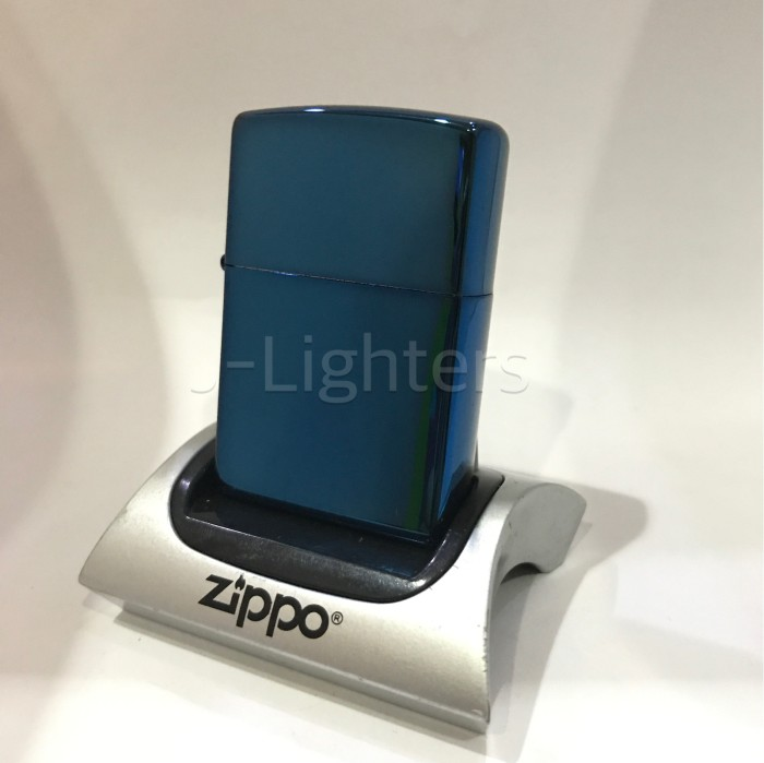 harga Korek zippo original 20446 sapphire blue Tokopedia.com