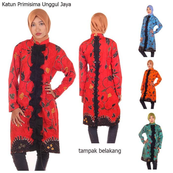 harga Blus batik milo tunik Tokopedia.com