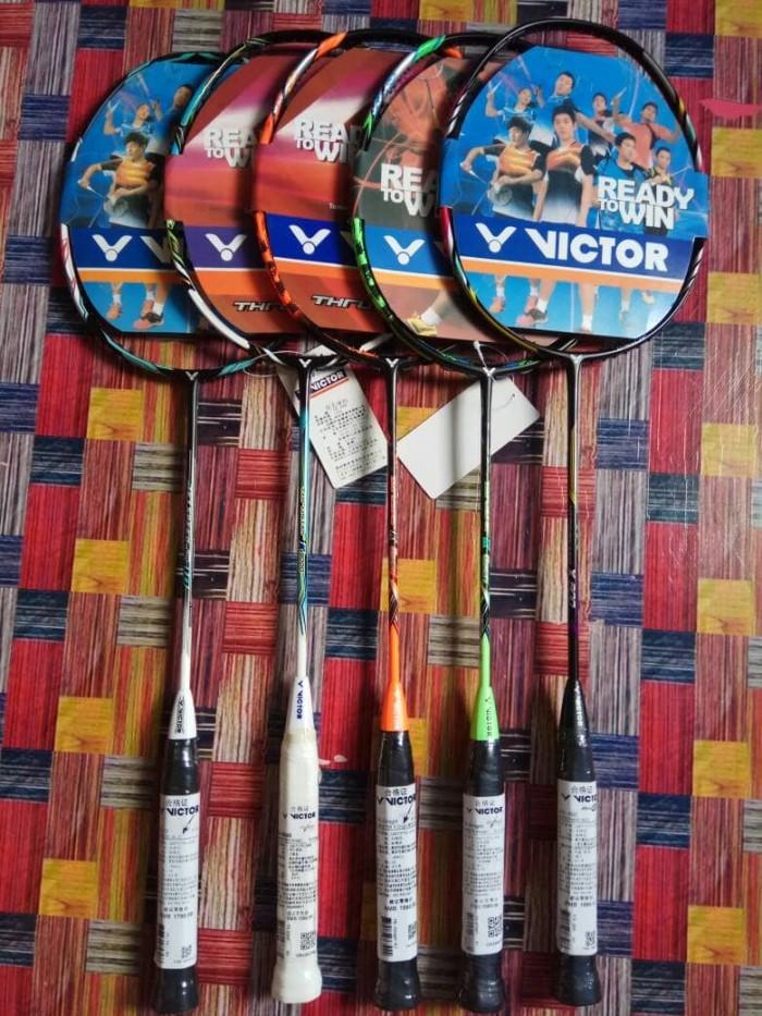 harga Raket badminton victor super include senar Tokopedia.com