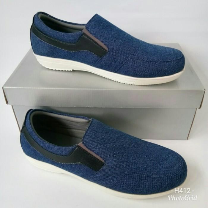 harga Sepatu fladeo msc2213lbl115, sepatupria, sepatuslipon, sepatusneakers, Tokopedia.com