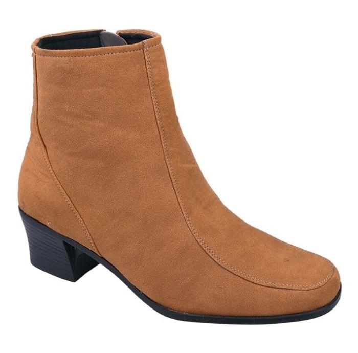harga High heels sepatu boots wanita sepatu casual wanitaraindoz rhg 006  tan Tokopedia. 5cc93caab8