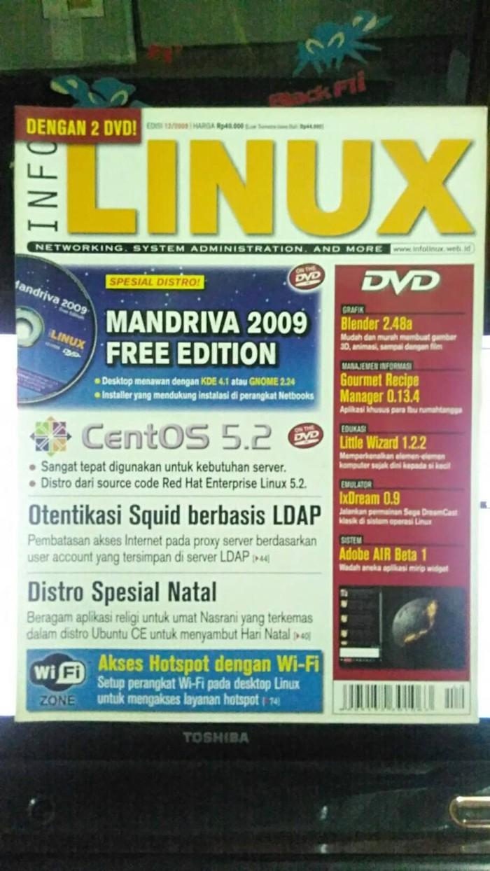 Jual Majalah Komputer LINUX Tanpa Dvd Jakarta Barat Tahta Konsultan