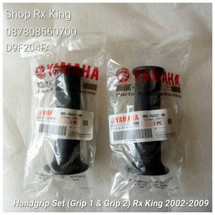harga Handgrip set (grip 1 + grip 2) rx king 2002-2009 original yamaha new Tokopedia.com