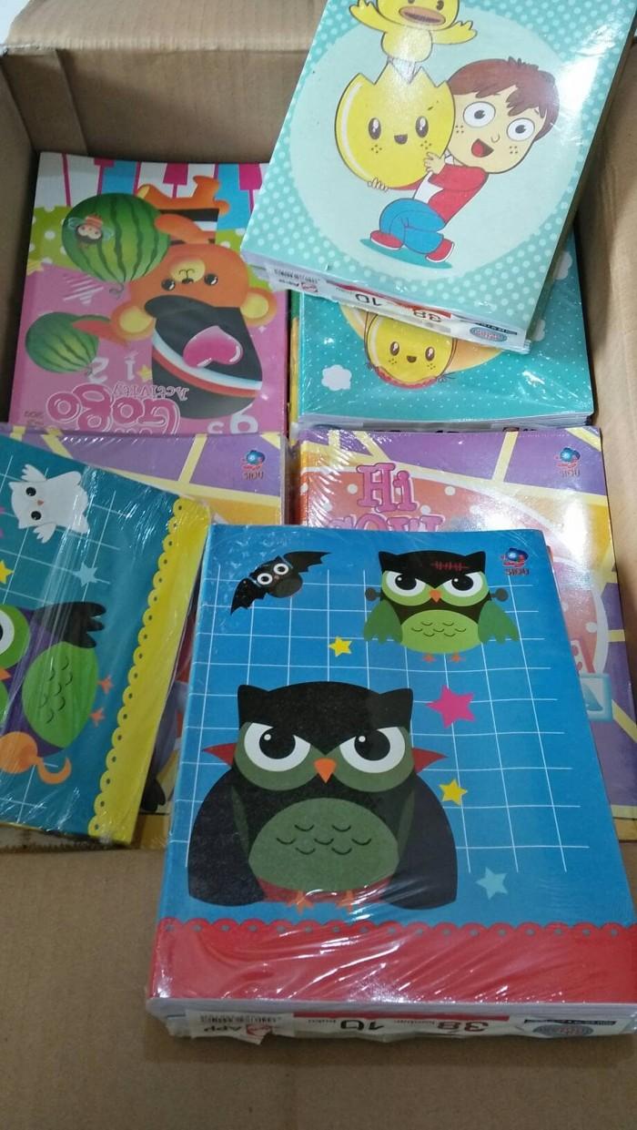 Jual Buku Tulis SIDU 38 Pack Jakarta Selatan Kenzie88 Store