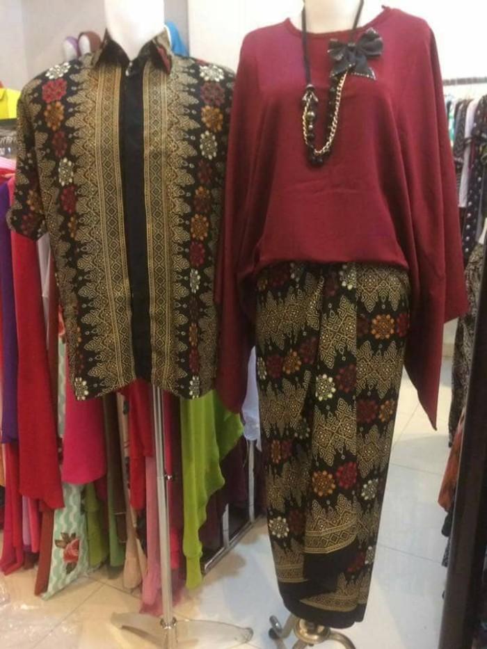 Jual Kutubaru Kebaya Couple Baju Kondangan Batik Kota Cilegon Zulma Id Tokopedia