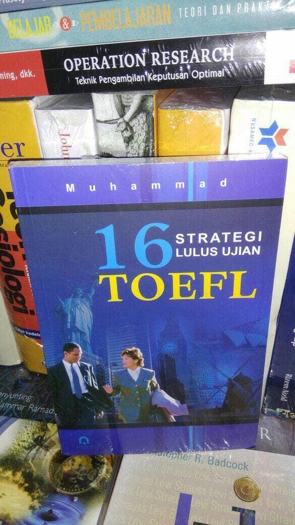 harga 16 strategi lulus ujian toefl - muhammad - s Tokopedia.com