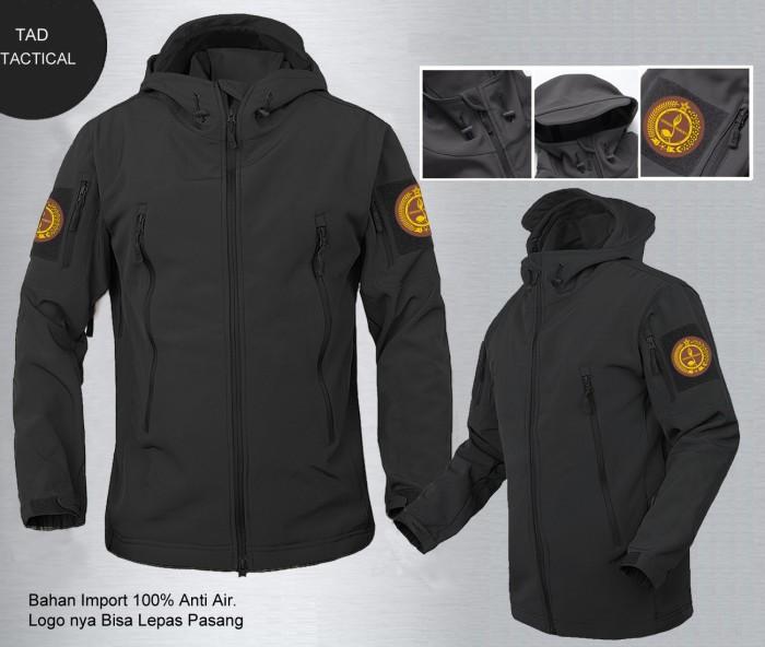 Jaket tad bravo pramuka hitam | jaket bola | waterproof all club