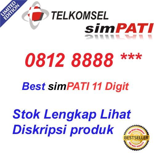 ... Best Simpati 11 digit 0812 8888 Kartu Perdana Nomor cantik telkomsel