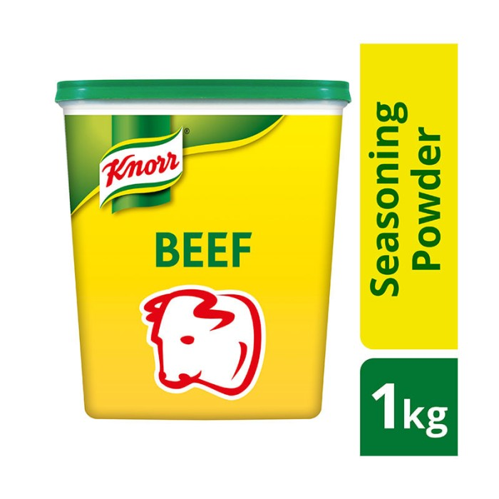 Knorr beef powder 1kg - bumbu rasa sapi