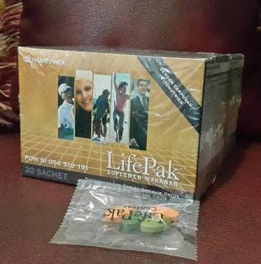 harga Suplemen lifepak - life pak - lifepack - life pack - nuskinn nu skinn Tokopedia.com