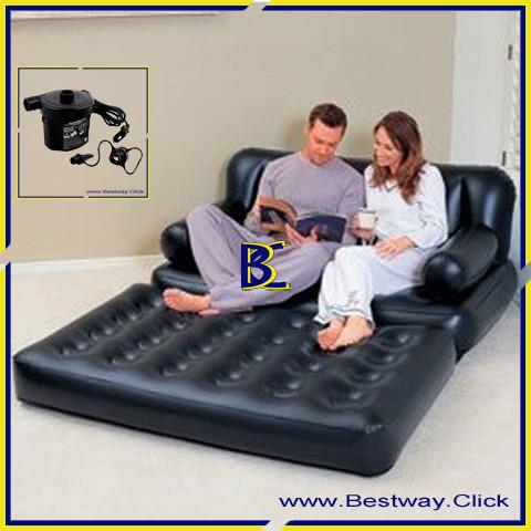 Foto Produk Sofa Bed 5 in 1 Bestway 75056 - Hitam dari Bestway Click