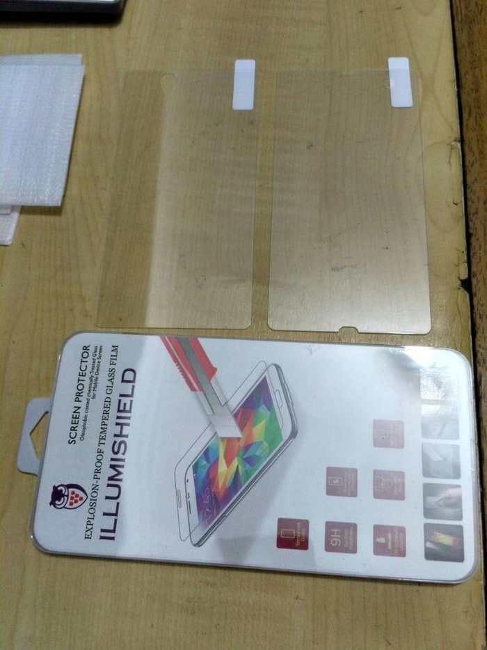 Sony Xperia Z Tempered Glass Depan Belakang Front Back Bening Clear