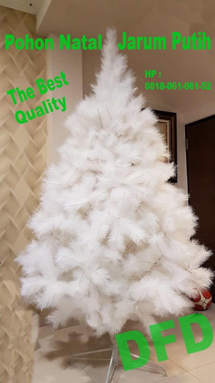 harga Pohon natal tinggi : 24 meter jarum putih polos ( kode : p-007 ) Tokopedia.com