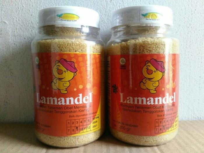 Lamandel botol 200 gram obat herbal amandel