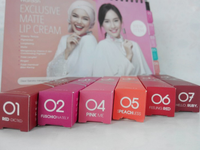 Info Wardah Lip Cream Matte Travelbon.com
