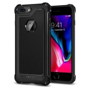 Spigen Rugged Armor Extra Case for iPhone 7 Plus / 8 Plus-Black/Hitam