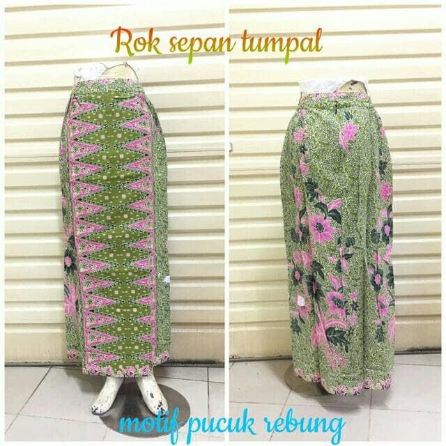 harga Rok sepan tumpal st10 panjang   maxi skirt   motif betawi pucuk rebung Tokopedia.com